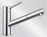 Mitigeur en inox Blanco Mitigeur + Douchette 521503 finition surface métallique couleur chrome Kano-s