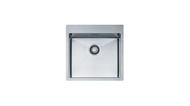 Evier en inox Franke PLANAR 009557 505x505 avec 1 cuve PEX 210-51