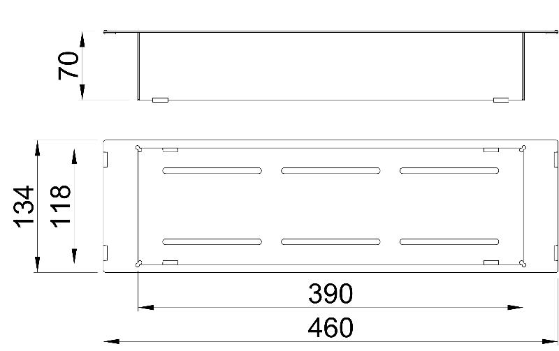 Accessoire Panier égouttoir HI-PAN-EV pour éviers Home-Inox HI-PAN-EV