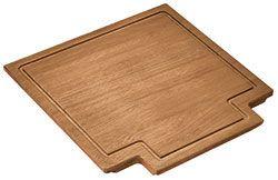 Planche à découper en bois pour éviers carrés 40 cm Smeg QUADRA VQ et VSTQ TLQ40