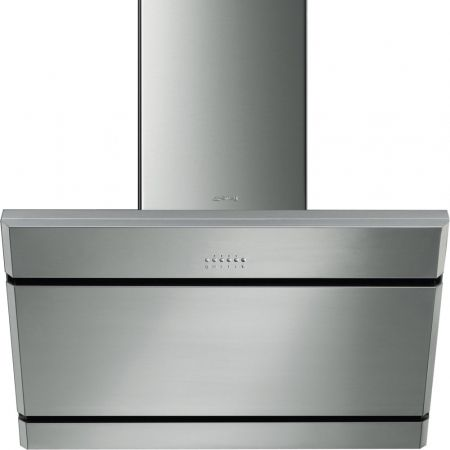 Hotte Smeg Hotte-décorative-murale-inox-750-mm-kl175xe KL175XE largeur 0x0 mm KL175XE