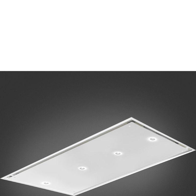 Hotte en fragranit Smeg Groupe De Plafond KSC120B couleur blanc KSC120B