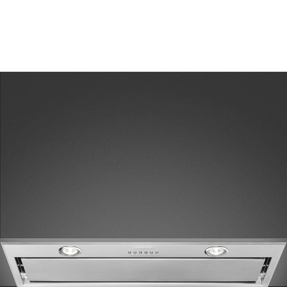 Hotte en inox Smeg Groupe Filtrant KSEG78PXE couleur inox KSEG78PXE